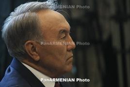Президент Казахстана Нурсултан Назарбаев осенью посетит Армению