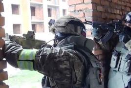 Во время спецоперации в Санкт-Петербурге задержаны три боевика
