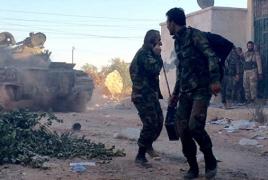 Сирийские войска начали штурм на юго-западе Алеппо