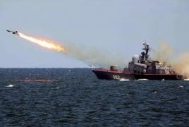 Российские корабли ударили по целям террористов в Сирии