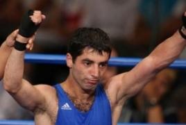 Российский боксер Миша Алоян вышел в финал Олимпийских игр в Рио