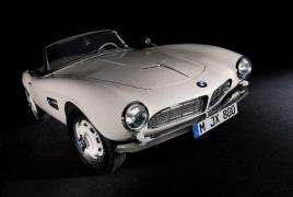 BMW 507 Элвиса Пресли выставили на аукционе винтажных автомобилей в США