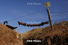 ВС Азербайджана произвели в направлении армянских позиций Карабаха около 320 выстрелов