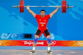 Тяжелоатлет Тигран В. Мартиросян может быть объявлен вице-чемпионом Олимпийских игр в Пекине