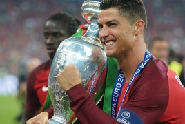 Криштиану Роналду признан лучшим футболистом Европы по версии УЕФА