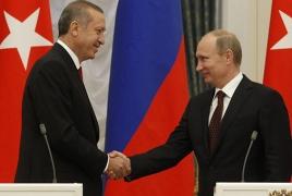Путин и Эрдоган по телефону обсудили вопросы доставки гуманитарной помощи в Алеппо