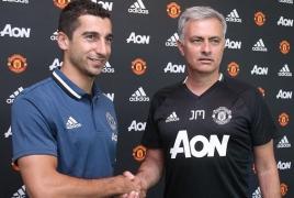 Жозе Моуринью: Мхитарян - супер игрок, и его ждет успех в «Манчестер Юнайтед»