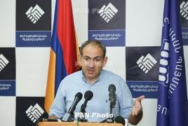 Оппозиционный депутат Никол Пашинян обсудил ситуацию в Карабахе с главой Минобороны РА