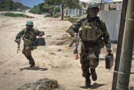 Suicide bomb attack near Somalia presidential compound kills 12