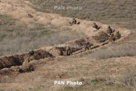 ВС Азербайджана произвели более 200 выстрелов в направлении армянских позиций НКР