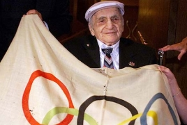 How Armenian athlete stole Olympic flag, returned it and got a medal