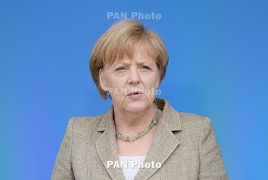 Merkel says won't distance herself from Armenian Genocide resolution