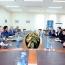 ՀՀ ՊՆ-ում ընդունել են 4 երկրի առաջատար ԶԼՄ-ների ներկայացուցիչներին