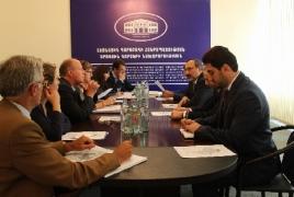 Глава МИД НКР - делегации из Бельгии: Независимость Карабаха не имеет альтернативы