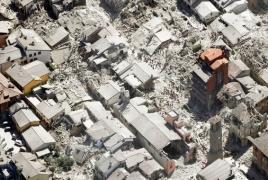 Новое землетрясение произошло в Центральной Италии