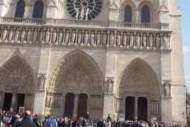 У собора Парижской Богоматери обнаружили автомобиль с газовыми баллонами