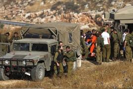 Israeli aircraft strike Syrian army in Golan Heights