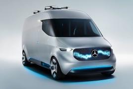 Автопроизводитель Mercedes-Benz и Matternet представили концепт-фургон с дронами