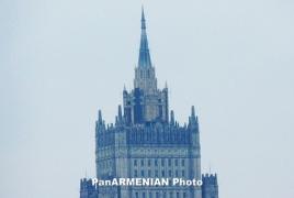 Lavrov, OSCE envoys discuss Karabakh settlement in Moscow