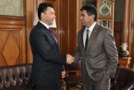 Шармазанов - вице-президенту Уругвая: Азербайджан - единственная сторона создающая препятствия в переговорном процессе