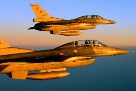 Авиация Турции бомбит позиции курдов
