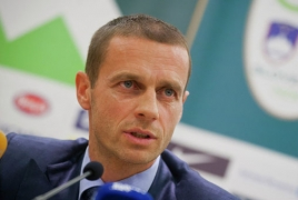 Armenia supports Alexander Ceferin for UEFA presidency