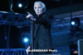 Ազնավուրը բեմական գործունեության 70-ամյակը կնշի միակ համերգով Վերոնայում