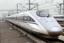 В Китае заработал самый быстрый серийный пассажирский поезд в мире