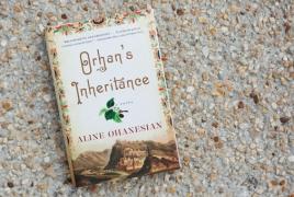 "Ohanesian's ""Orhan's Inheritance"" a finalist for Dayton Literary Prize"
