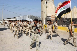 Iraqi troops launch offensive to drive IS from town south of Mosul