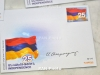 HayPost cancels two fresh stamps for 25-year-old independent Armenia
