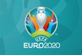 УЕФА представил логотип Евро-2020 в Лондоне