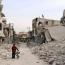 Warplanes set rebel-held Aleppo ablaze as truce collapses