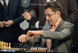 Армянский гроссмейстер Левон Аронян стартует в турнире памяти Михаила Таля