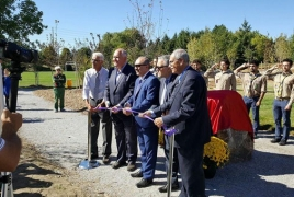 Forest of Hope opens in Canada to commemorate Armenian Genocide
