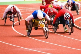 Паралимпийцы из Армении примут участие в гонках на колясках в Сочи