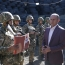 Acting Defense Minister visits Armenia's military posts