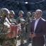 Оганян посетил воинские части в северо-восточном направлении границы РА