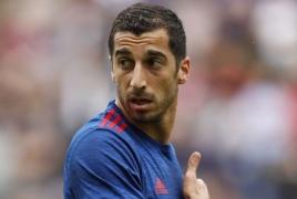 Моуриньо: Мхитарян не сыграет в матче 2-го тура Лиги Европы