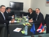 Karabakh FM slams Azeri aggression at meeting in Belgium
