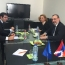 Karabakh FM slams Azeri aggression at meeting in Belgium