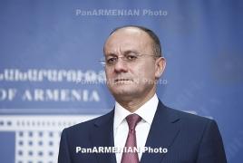 Правительство РА выделит предоплату для получения оружия от России