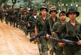 Colombia voters reject landmark peace deal with Farc rebels