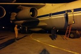 First plane carrying humanitarian aid reaches Syria's Khmeimim