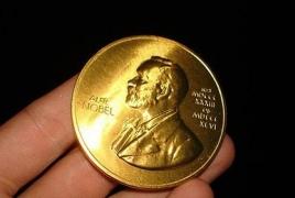 Nobel physics prize goes to D. Thouless, D. Haldane, M. Kosterlitz