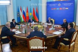 CSTO supports OSCE Minsk Group role in Karabakh settlement