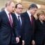 Путин примет участие во встрече «нормандской четверки» в Берлине