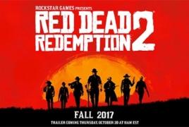 Студия Rockstar анонсировала продолжение вестерна Red Dead Redemption