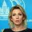 Захарова: Москва приветствует конструктивную роль Турции в урегулировании карабахского конфликта