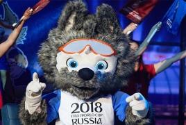 Талисманом ЧМ-2018 по футболу в России стал волк
